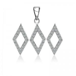 Bộ trang sức bạc Midu