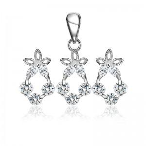 Bộ trang sức bạc Queen Of Night