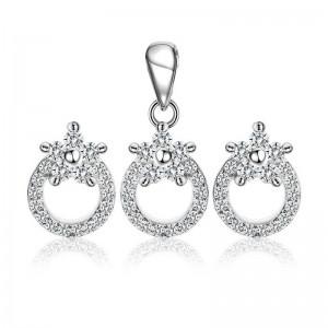 Bộ trang sức bạc Sara Clara