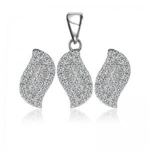Bộ trang sức bạc Simply Leaf