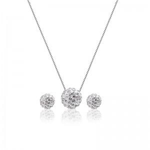 Bộ trang sức bạc Snowball