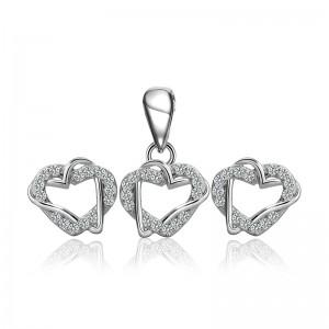 Bộ trang sức bạc Sofia Love
