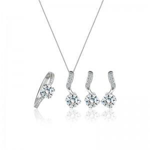 Bộ trang sức bạc Sophia Love