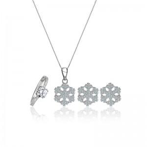 Bộ trang sức bạc Special Snowflakes