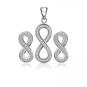 Bộ trang sức bạc Sulli