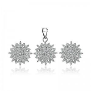 Bộ trang sức bạc Sunshine Flower