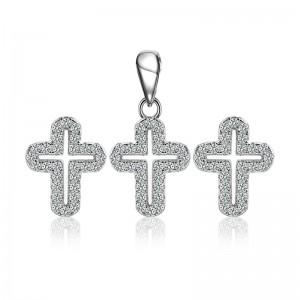 Bộ trang sức bạc The Cross