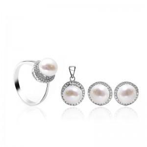 Bộ trang sức bạc The Special Pearl