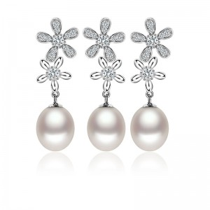Bộ trang sức bạc Valeria Love