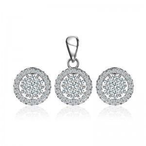 Bộ trang sức bạc Vivi Circle