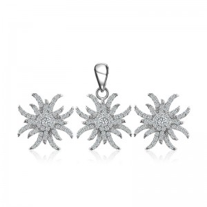 Bộ trang sức bạc Wildflower