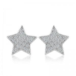Bông tai bạc Hovi Star