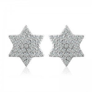 Bông tai bạc Magic Stars
