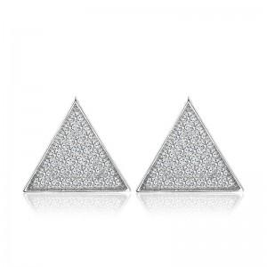 Bông tai bạc Sensi Triangle