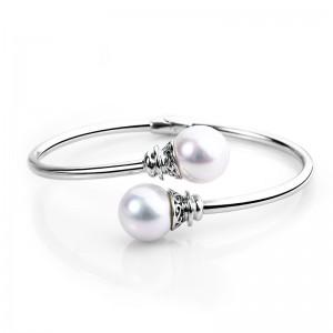 Lắc tay bạc Ely Pearl