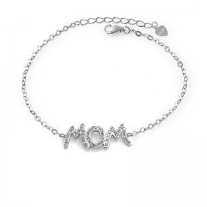 Lắc tay bạc Mom