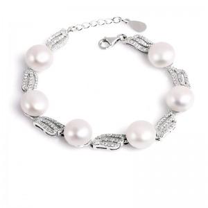 Lắc tay bạc Seaway Pearl