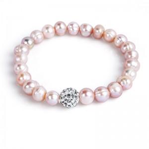Vòng tay ngọc trai Pink Pearl
