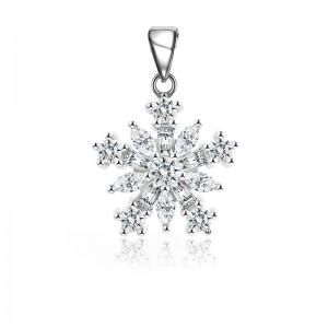 Mặt dây chuyền bạc Alidian Flower