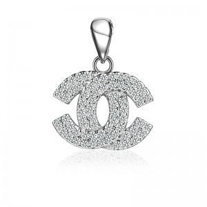 Mặt dây chuyền bạc Aly Chanel