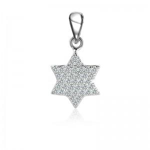 Mặt dây chuyền bạc Charles Star