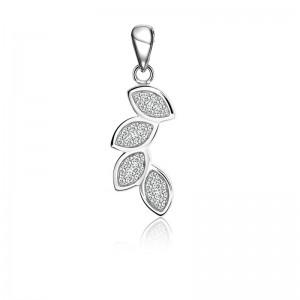Mặt dây chuyền bạc Foliage