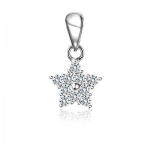 Mặt dây chuyền bạc Hailey Star