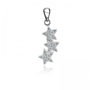 Mặt dây chuyền bạc Happy Star