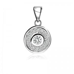 Mặt dây chuyền bạc Jen Circle