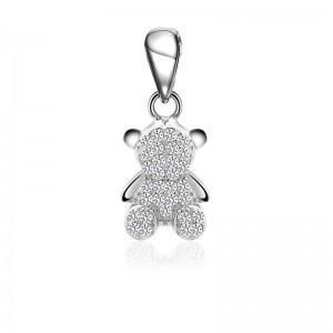 Mặt dây chuyền bạc Lovely Bear