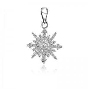 Mặt dây chuyền bạc Lovely Snowflake