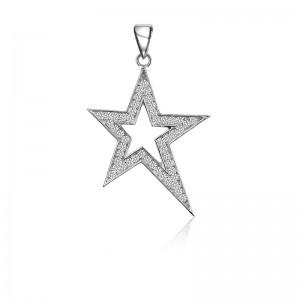 Mặt dây chuyền bạc Lovely Star