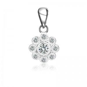 Mặt dây chuyền bạc Naveen Flower