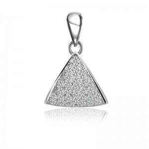 Mặt dây chuyền bạc Shin Triangular