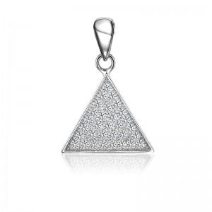 Mặt dây chuyền bạc The Triangle