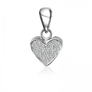 Mặt dây chuyền bạc Zyra Love