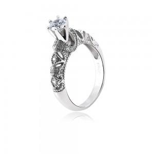 Nhẫn bạc Sparkling Love