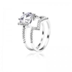 Nhẫn bạc Anna Luxury