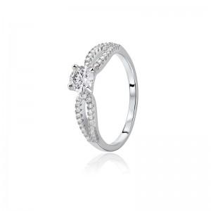 Nhẫn bạc Ariana Love