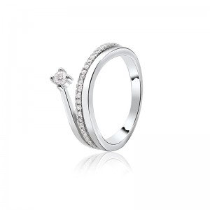 Nhẫn bạc Athenan Love