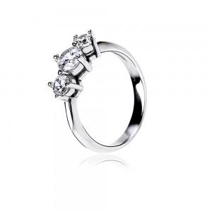 Nhẫn bạc Attractive