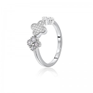 Nhẫn bạc Baby Flower