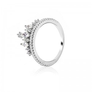 Nhẫn bạc Bastet Love