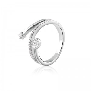 Nhẫn bạc Belinda