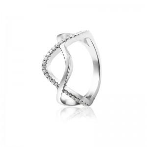 Nhẫn bạc Brenna Love
