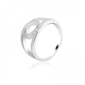 Nhẫn bạc Callisto Love