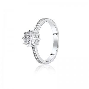 Nhẫn bạc Caroline