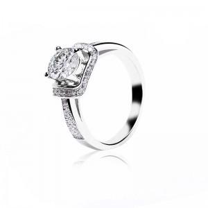 Nhẫn bạc Chestnut