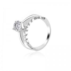 Nhẫn bạc Crystal