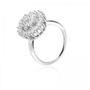 Nhẫn bạc Dahlia